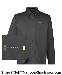 Carlile Architects long sleeve men's dress shirt Design Zoom