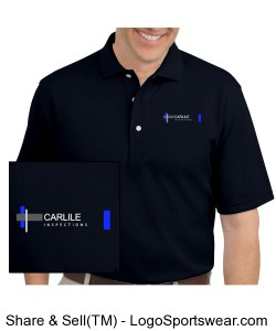 Carlile Inspections polo with logo Design Zoom